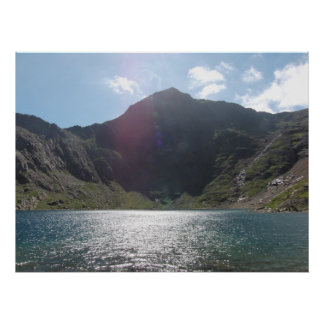 Stunning Mount Snowdon Photo Poster