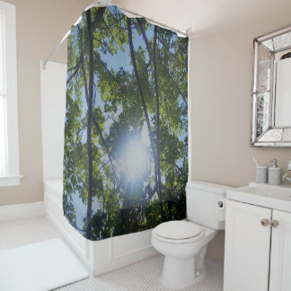 Stunning Nature Print Shower Curtain