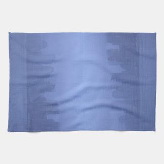 Stunning NYC Blue Foggy Skyline CricketDiane Kitchen Towel