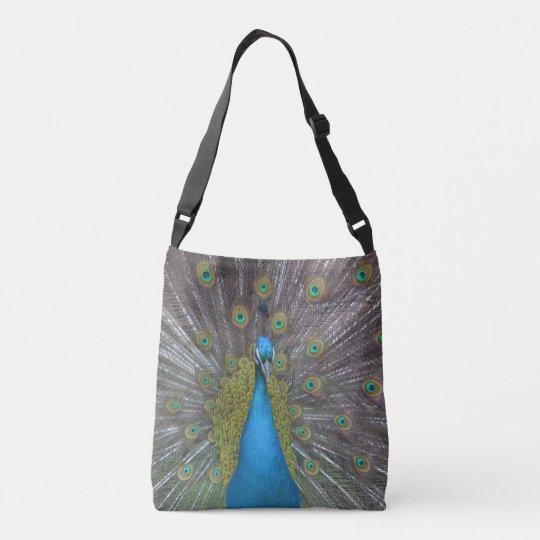 Stunning Peacock Crossbody Bag