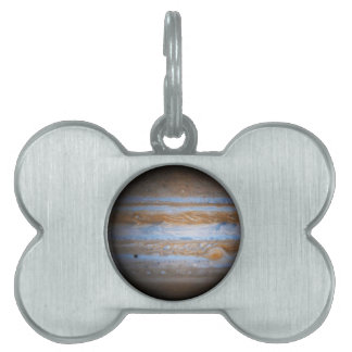 Stunning Photo of the Planet Jupiter Pet ID Tag