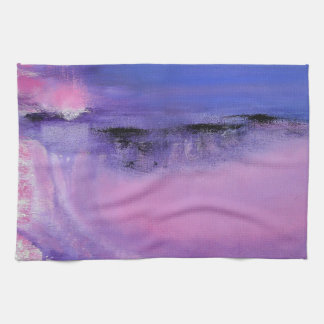 Stunning Pink Abstract Kitchen Towel