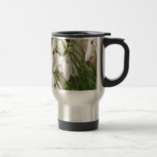 Stunning Snowdrops Travel Mug