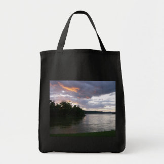 Stunning Sunrise Along Ohio River Tote Bag