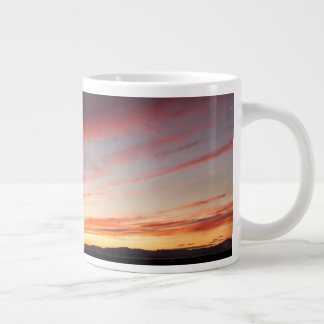Stunning Sunset Large Coffee Mug