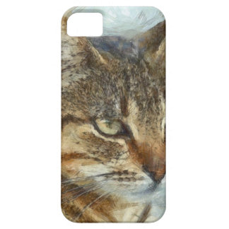 Stunning Tabby Cat Close Up Portrait Case For The iPhone 5