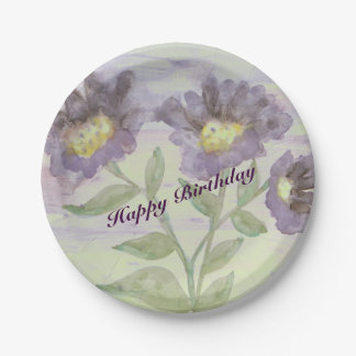 Stunning Watercolor Paper Plates 7 Inch Paper Plate