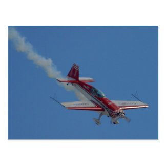 Stunt Plane Postcard