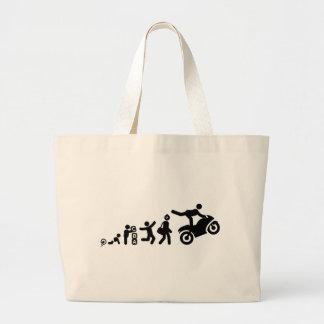 Stunt Rider Canvas Bags