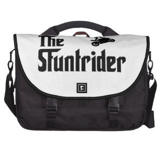 Stunt Rider Laptop Bags