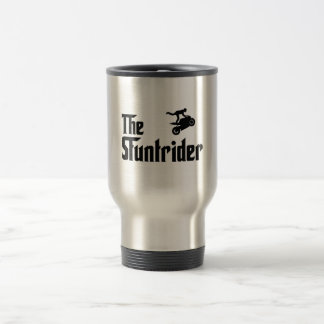 Stunt Rider Stainless Steel Travel Mug