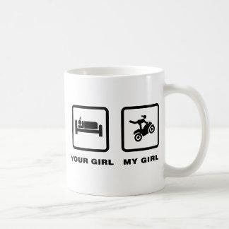 Stunt Rider Basic White Mug