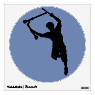 Stunt Scooter Champion Sports Silhouette Art Wall Decal