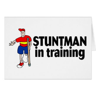 Stuntman In Training 2 Card