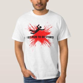 STUNTMAN PROFESSIONAL (black/red) T-Shirt