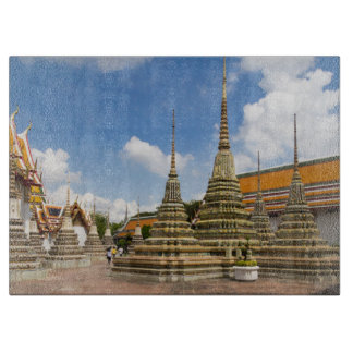 Stupas in Wat Po Boards