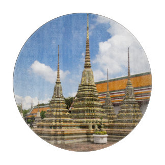 Stupas in Wat Po Cutting Board