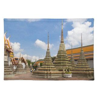 Stupas in Wat Po Place Mats
