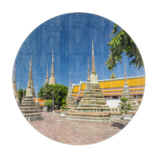 Stupas, Wat Pho, Bangkok, Thailand Boards