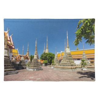 Stupas, Wat Pho, Bangkok, Thailand Placemat