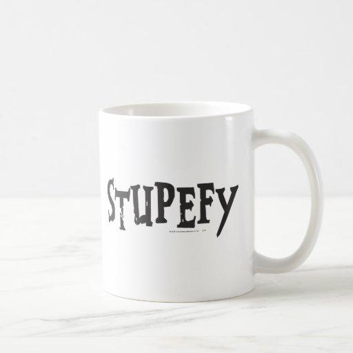 Stupefy Classic White Coffee Mug