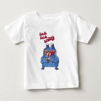 stupid alien cartoon style funny illustration baby T-Shirt