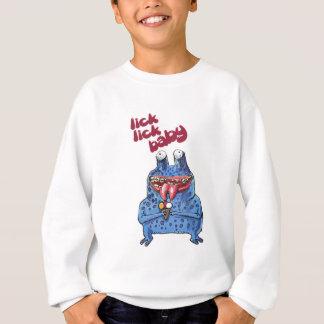 stupid alien cartoon style funny illustration sweatshirt