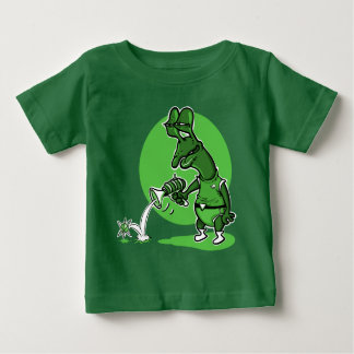 stupid alien shoot single electron cartoon baby T-Shirt