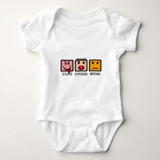 Stupid Confused Boring Baby Bodysuit