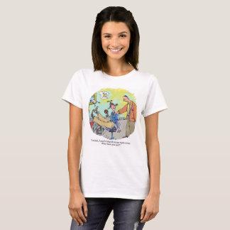 Stupid Excuse womens cartoon shirt