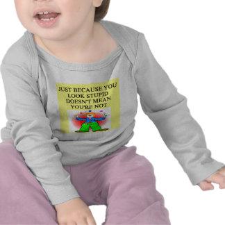 STUPID joke Tee Shirt