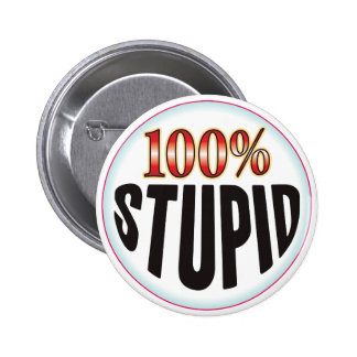Stupid Tag Pinback Buttons
