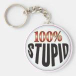 Stupid Tag Keychains
