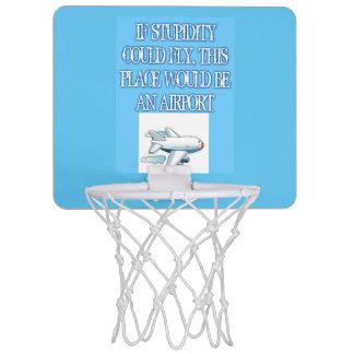 Stupidity Mini Basketball Goal Mini Basketball Hoop