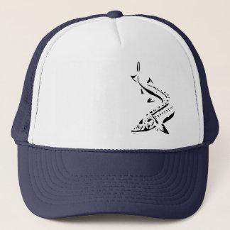 Sturgeon Hat - Tribal1-black