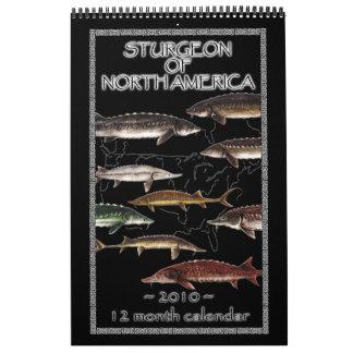 Sturgeon of North America 2010 Calendar