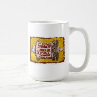 Sturmey Archer Vintage 3 speed Bicycle Hubs Coffee Mug