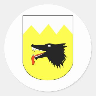 Sturzkampfgeschwader 77 Stab I. Gruppe Classic Round Sticker