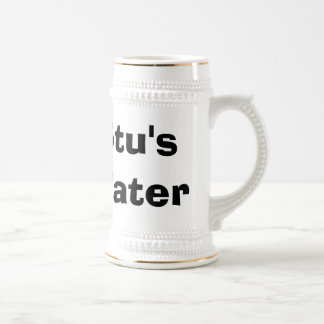Stu's Water Beer Stein