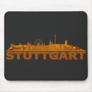 Stuttgart city of skyline - other gift ideas mouse pad