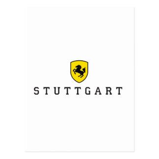Stuttgart Crest Postcard