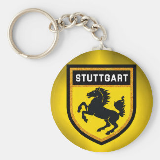 Stuttgart Flag Keychain