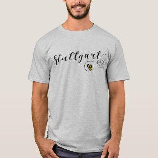 Stuttgart Heart Tee Shirt, Germany