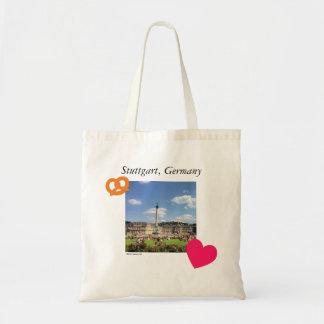 Stuttgart Mitte Bretzel Love Tote Bag