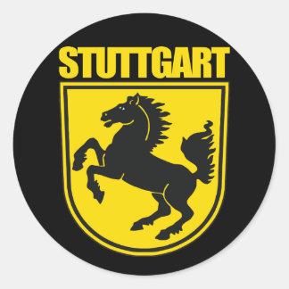 Stuttgart Round Sticker
