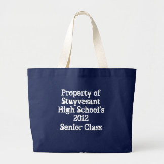 Stuyvesant High School - 2012 Senior Jumbo Tote Bag