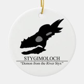 Stygimoloch Skull Ceramic Ornament