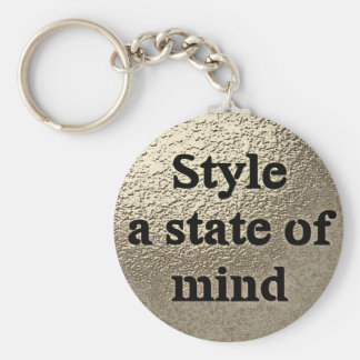 Style a state or mind - key-ring keychain