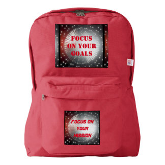 Style: American Apparel™ Backpack 4 COLOR CHOICES
