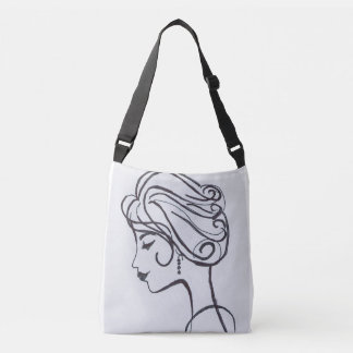 Style and Awe with earrings Crossbody Bag